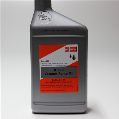 Busch Vacuum Pump Oil